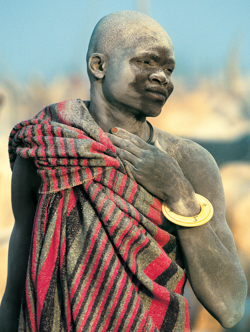 Dinka Herder with Ivory Bracelet, South Sudan