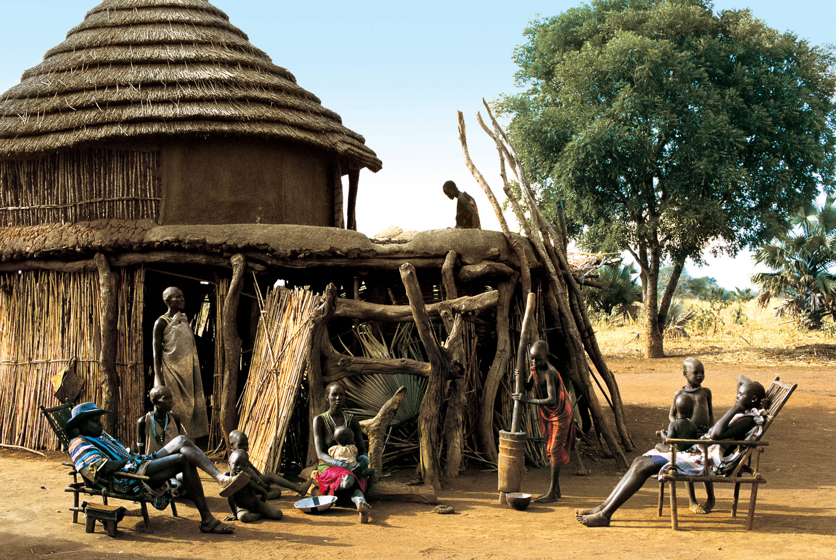 Dinka Homestead, South Sudan