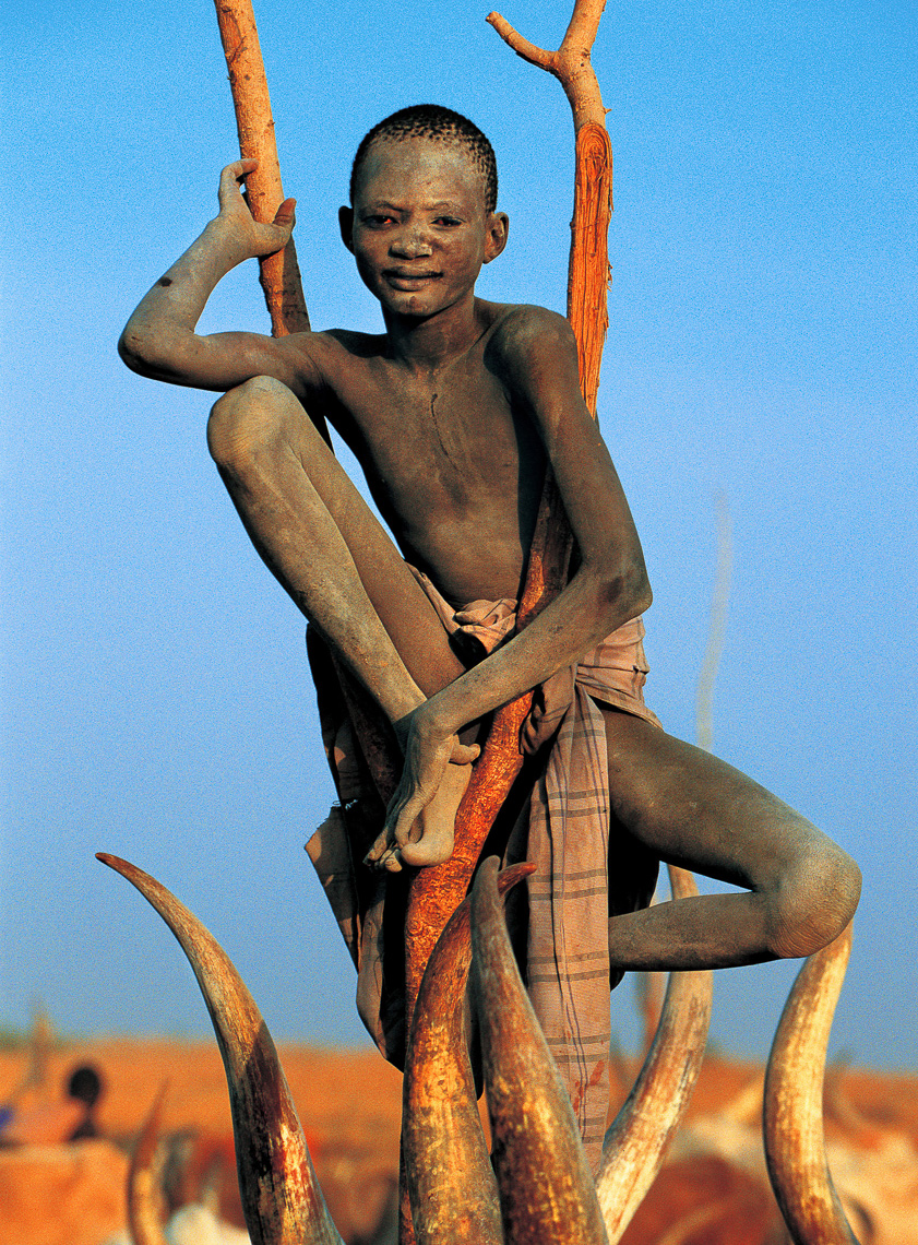 Dinka Boy in Branch, South Sudan