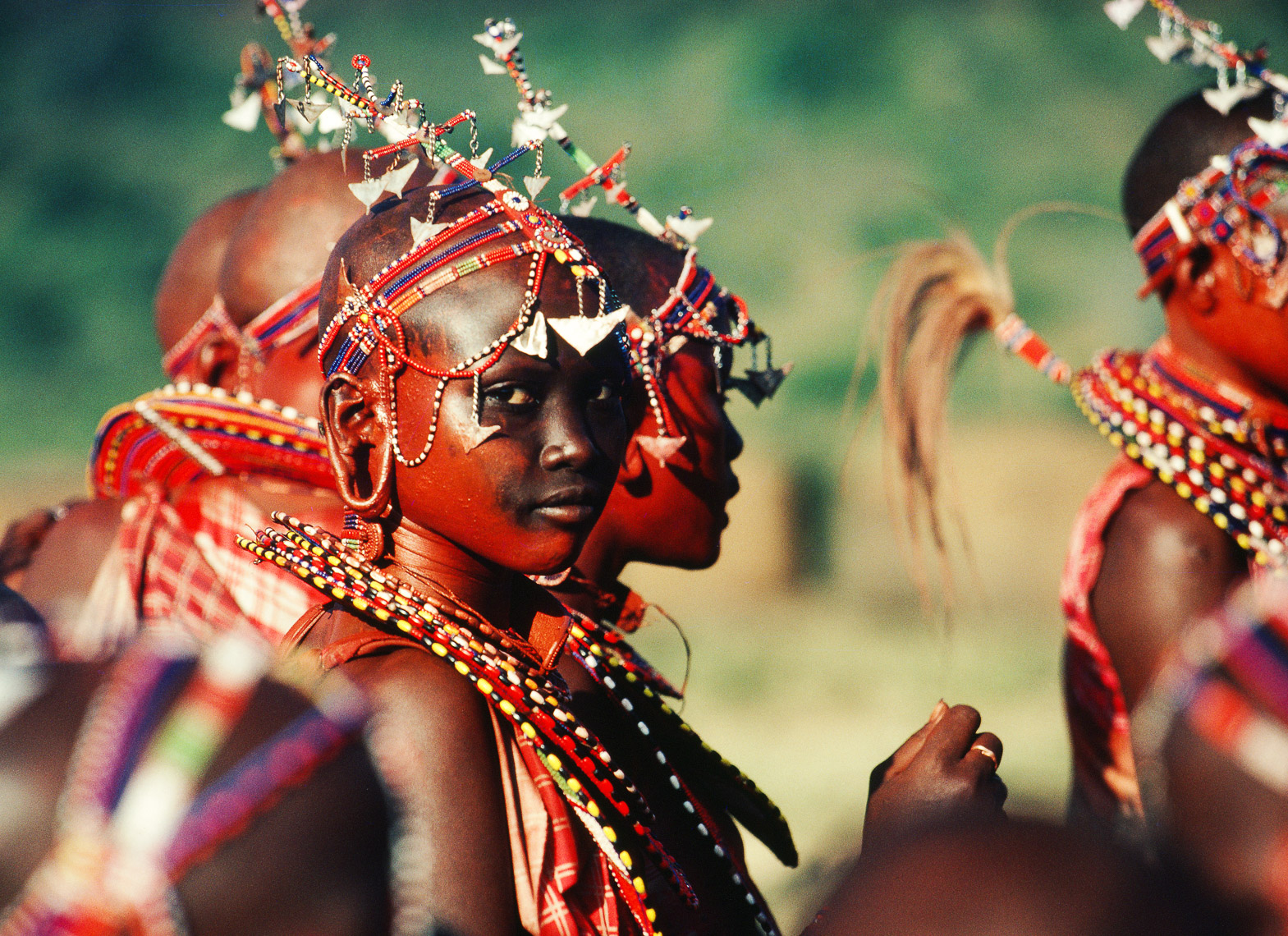 Female Companions of Maasai Warriors