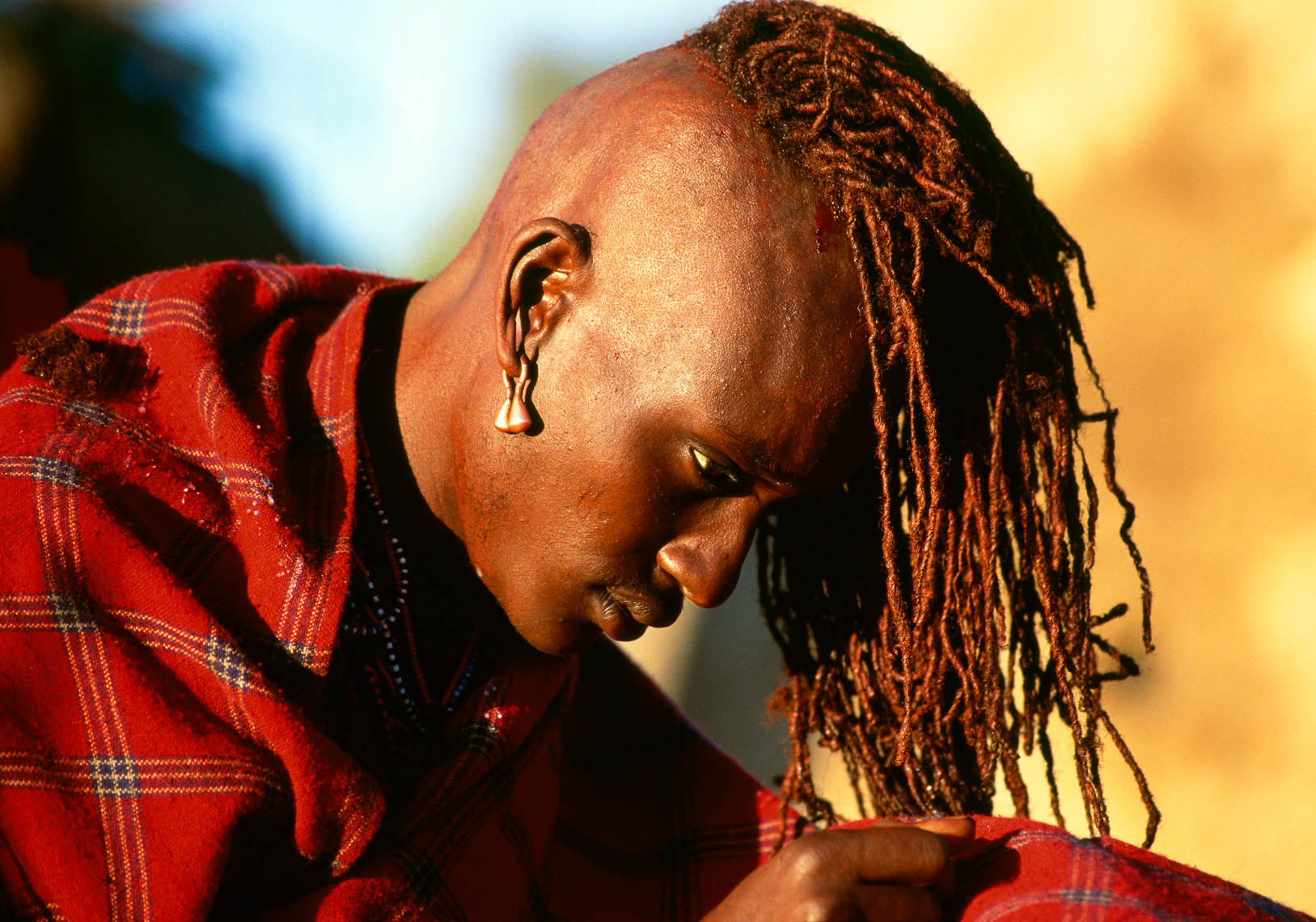 Head-Shaving of Maasai Warriors