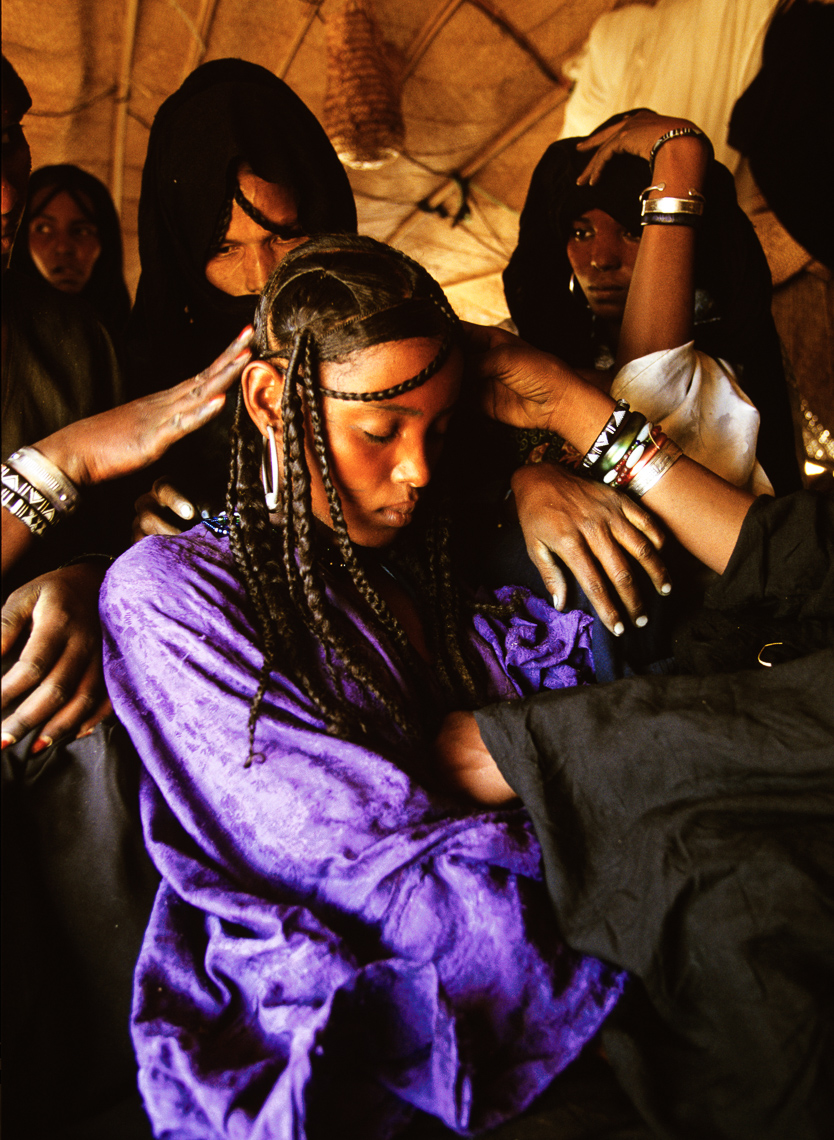Preparation of a Tuareg Bride
