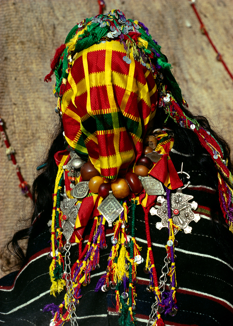 Veiled Berber Bride