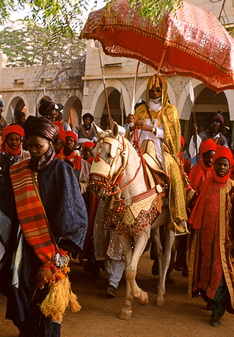 The Emir of Katsina at Sallah Ceremony