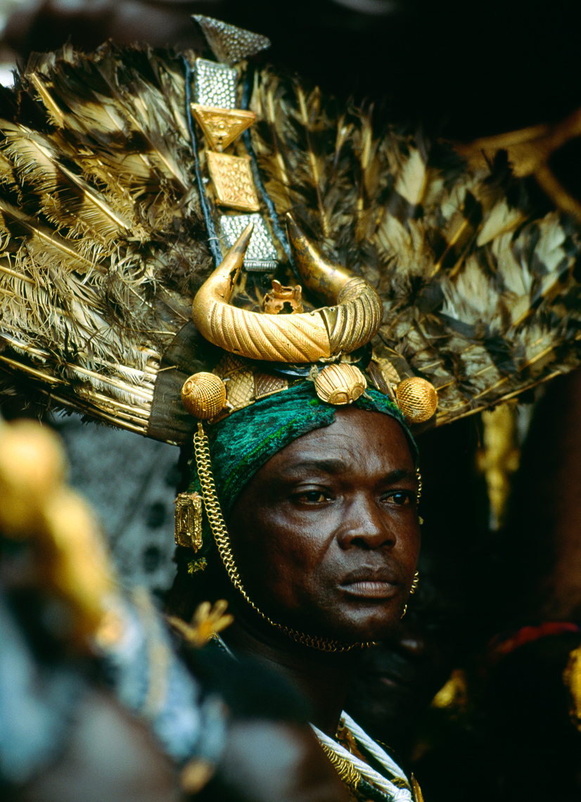 Ashanti Chief Sword Bearer