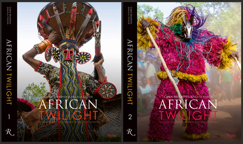 African Twlight: Vanishing Ritual & Ceremonies - book covers