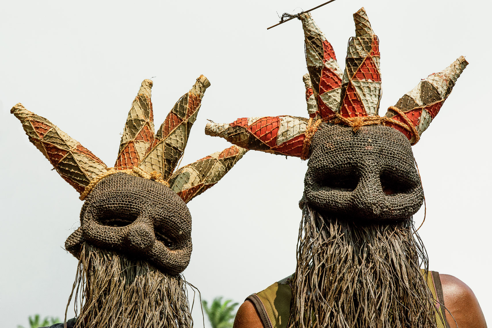 Salampasu Warrior Masks, D.R. Congo