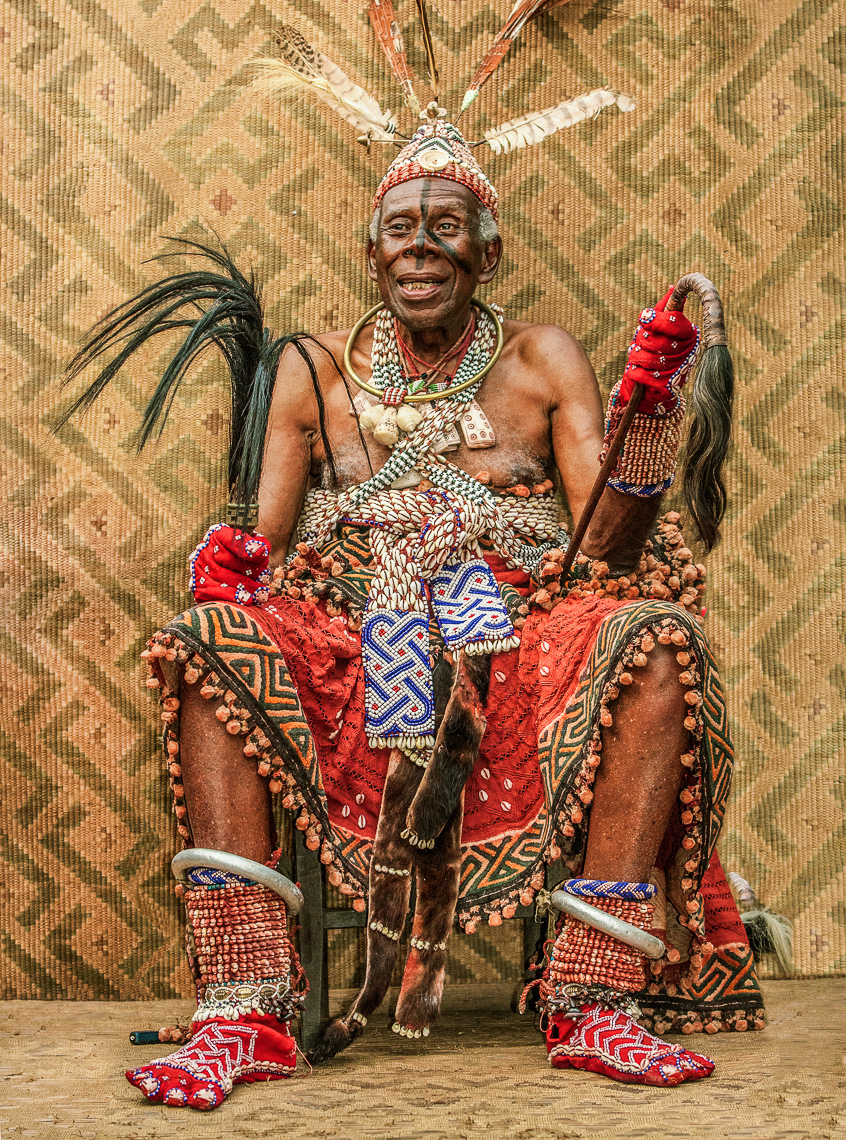 Revered Kuba Elder, D.R.Congo