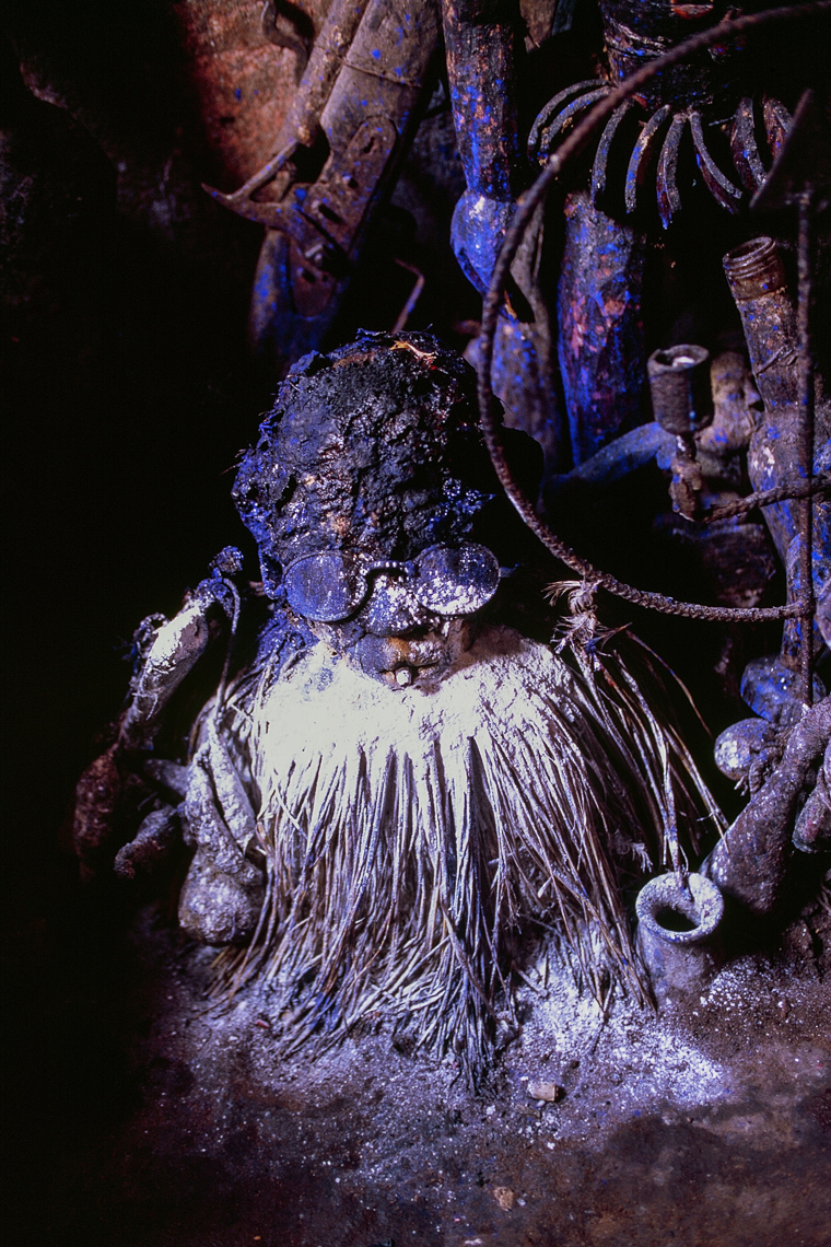 Voodoo Shrine of Gambada, Ouidah, Benin